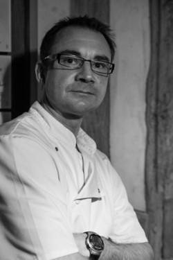 Chef Gérard Bonnefoy à l'Hôtel La Chaumière