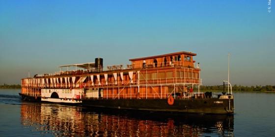 STEAM SHIP SUDAN croisière de luxe sur le nil