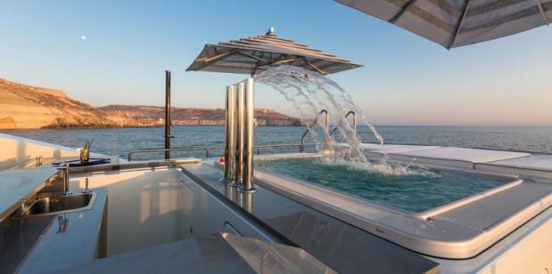 L'Ocean Paradise est un véritable espace de loisirs avec notamment la piscine à cascade.