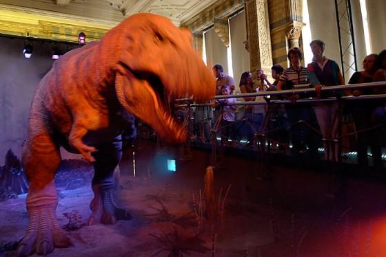 T-Rex-animation londres