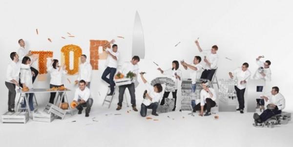 Top Chef VS MasterChef - La promo Top Chef 2013