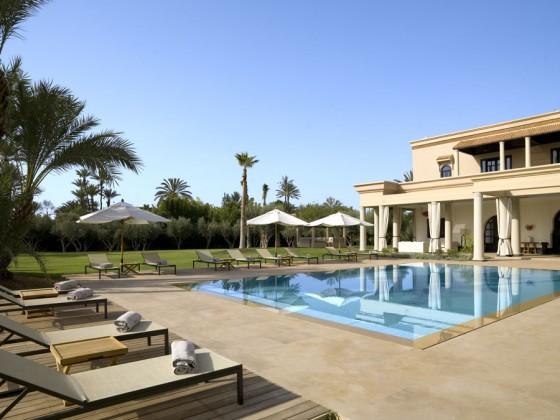 villas de luxe à louer à Marrakech