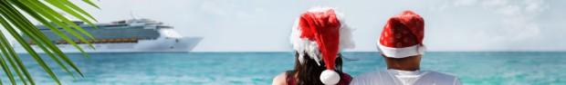 """Vous pouvez partir au soleil pour les fêtes de fin d'années grâce aux croisières """"noël et jour de l'an""""."""