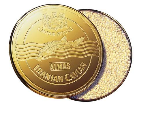 Le caviar Almas