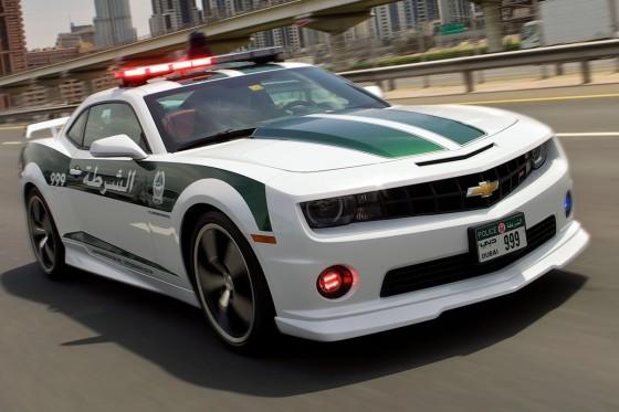 chevrolet-camaro-ss-voitures de police de dubaï