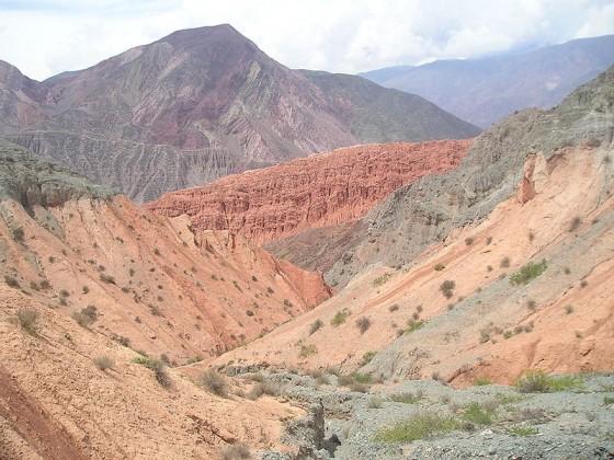 L'été, le Quebrada de Humahuaca se remplit du Rio Grande