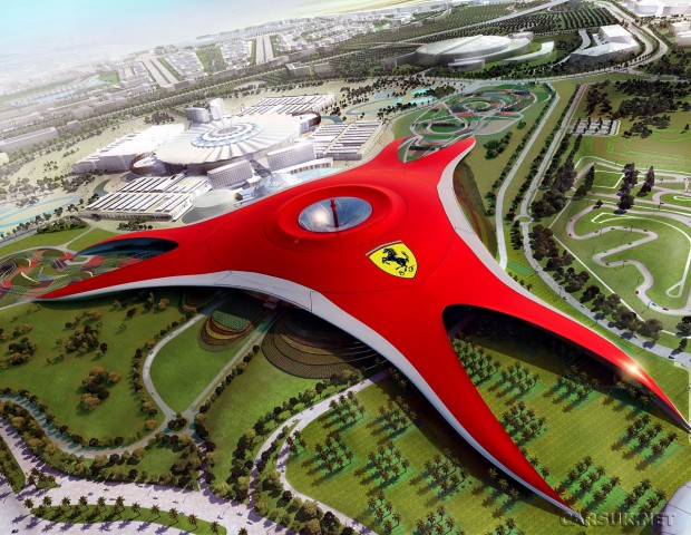 Ferrari World Plus grands parcs d'attractions au monde