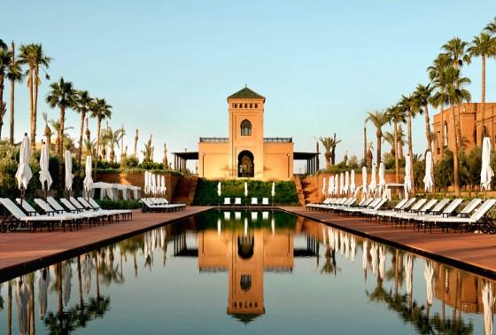 Les plus belles piscines de Marrakech Hôtel Selman