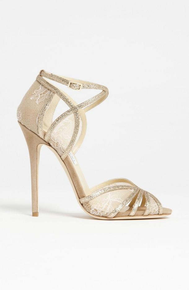 """Chaussures de Mariée Jimmy Choo modèle """"So Chic """" Fitch"""