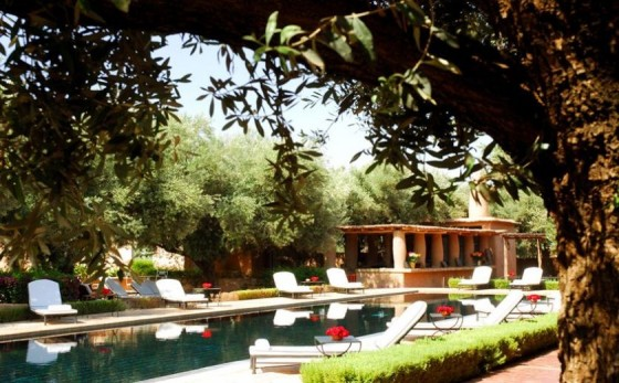 les plus belles piscines de Marrakech Beldi Country Club