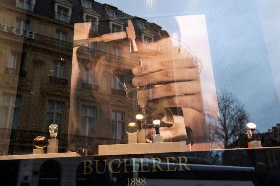 les temples du luxe à Paris Bucherer 2