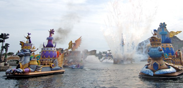 Tokyo Disney Sea Plus grands parcs d'attractions au monde