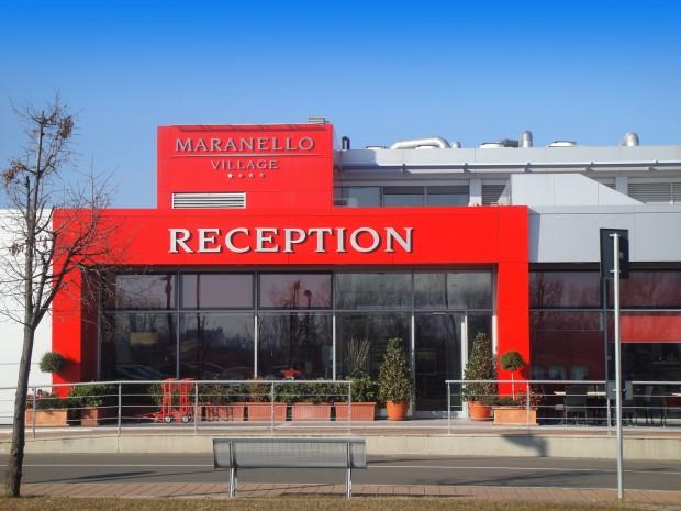 Maranello Village est un hôtel 4 étoiles entièrement dédié à la Scuderia Ferrari.