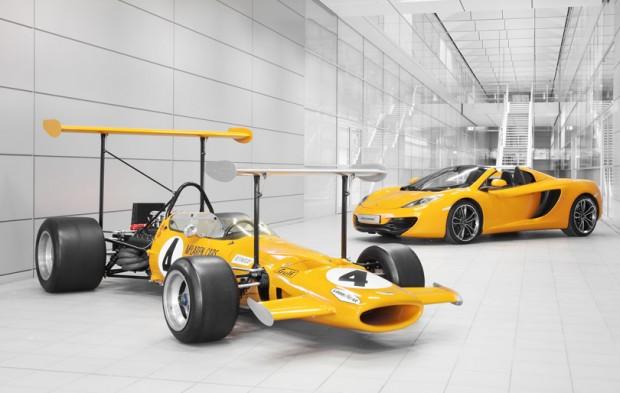 McLaren a un demi-siècle !