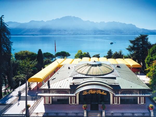 Vue du Montreux Palace