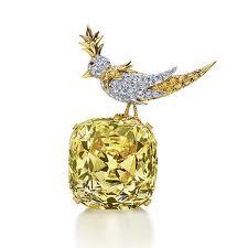 oiseau diamant jaune