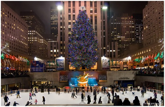 patinoire Rockfeller Center New York Viaprestige