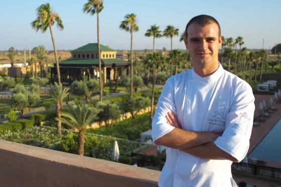 un chef, une recette Chef Pâtissier David Ponge du  Selman Marrakech