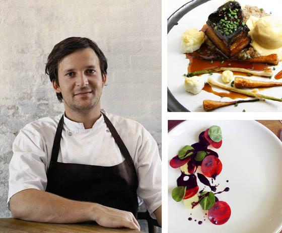 C'est avec une ingéniosité inégalée que le Chef René Redzepi concocte des plats délicats et originaux.