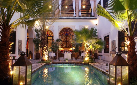 restaurants marocains à Marrakech-Restaurant-du-Riad-Monceau