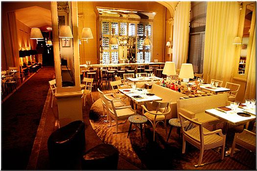 restaurants signés Philippe Stark  Bon