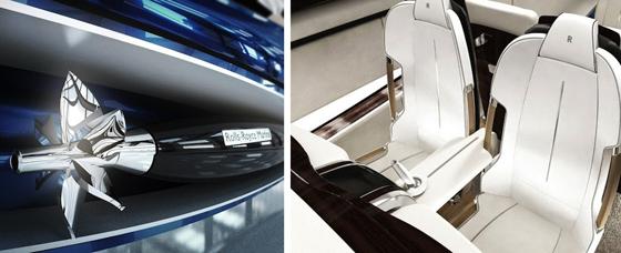 Rolls-Royce-450EX et son sens du raffinement dans les moindres détails.