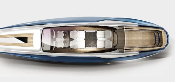 L'intérieur du Rolls-Royce-450EX n'est pas sans rappeler les voitures du concepteur anglais.