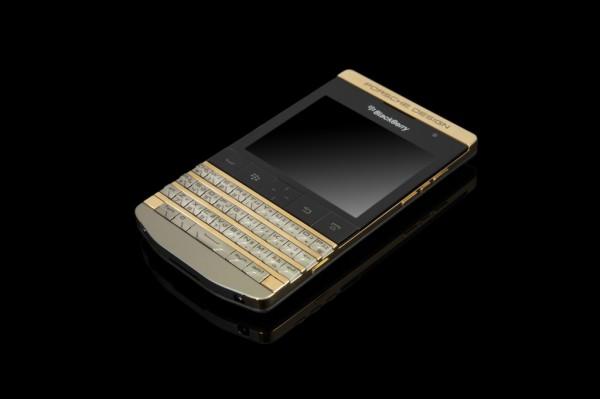Le smartphone Blackberry et Porsche Design