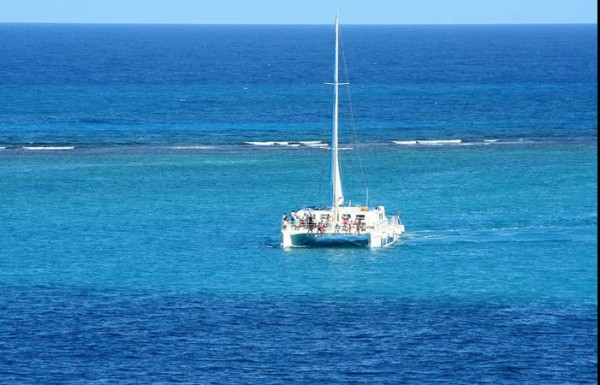 team building en catamaran