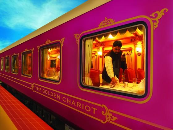 Voyage en Inde Train de Luxe