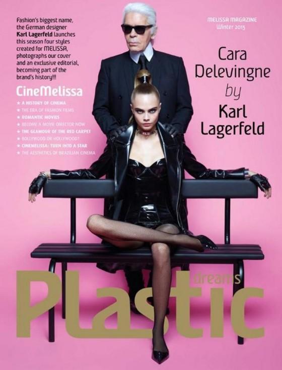 Karl Lagerfeld Cara Delevingne