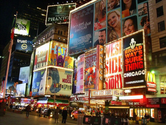 vacances de luxe à New York broadway