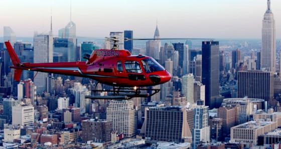 Faire un tour en hélicoptère au dessus de New York