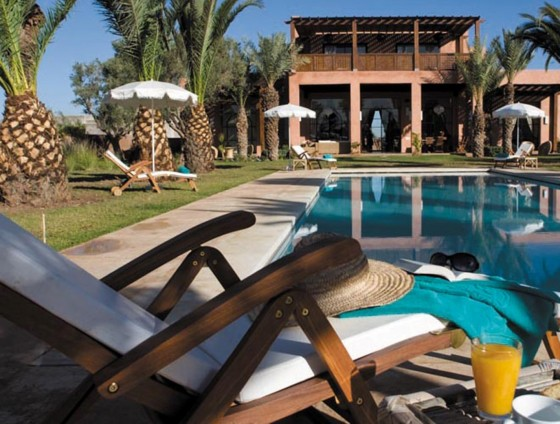 villa marrakech piscine
