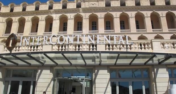 hôtel de luxe à marseille Intercontinental