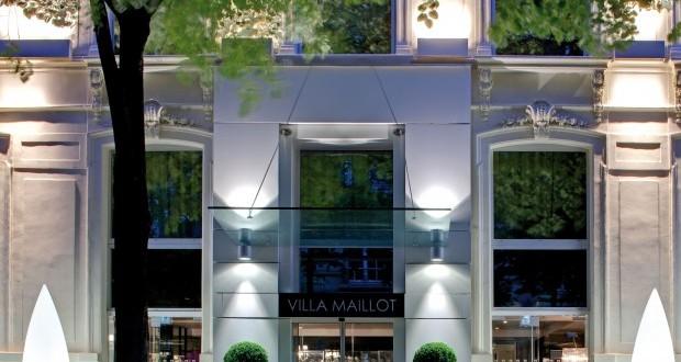 Façade - La Villa Maillot & Spa PARIS