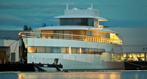 Venus, le Yacht de Steeve Jobs