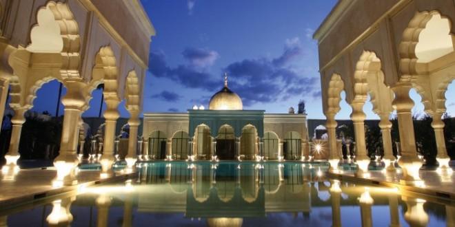 les plus belles piscines de Marrakech Palais Namaskar