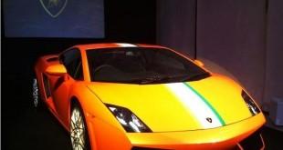 La nouvelle déclinaison de la Lamborghini Gallardo est seulement commercialisée en Inde à seulement six exemplaires.