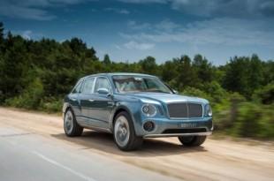 Le premier SUV de Bentley est prévu pour 2016.