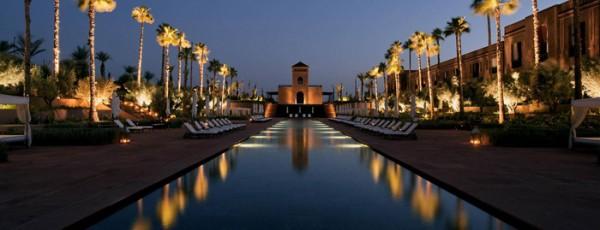 hotel de luxe au Maroc